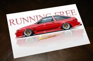 RUNNING FREE PRESENT
