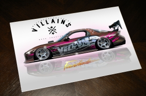 VILLAINS FD